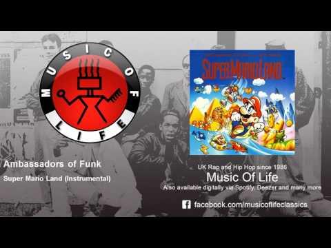 Ambassadors of Funk - Super Mario Land - Instrumental - feat. M.C. Mario