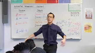 Integrating Trigonometric Functions (2 of 4: Establishing basic results)