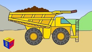 Мультики про машинки. Транспорт и строительная техника для детей. Презентации для детей