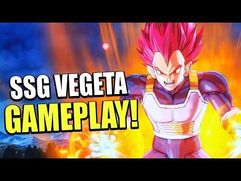 THE SAIYAN PRINCE! SUPER SAIYAN GOD VEGETA MOVESET DLC 9 GAMEPLAY! | Dragon Ball Xenoverse 2