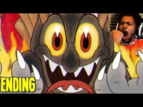 WHICH ENDING SHOULD WE PICK?  Cuphead Part 6 BOTH ENDINGS
