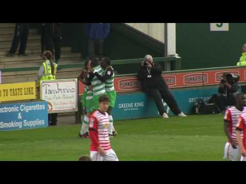 Yeovil Town 3-0 Crewe Alexandra: Sky Bet League Two Highlights 2016/17 Season