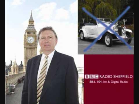 Death Knell for Vintage & Classic Wedding Cars - MP Greg Knight - BBC Radio Sheffield