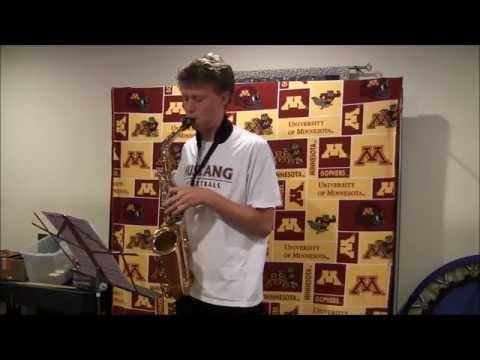 Justin Elton's University of Minnesota 2015 Marching Band Audition