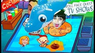 TROLL FACE QUEST TV SHOW Прикол с какашками Смешное видео для детей тролфейс мультик игра Валеришка
