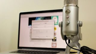 Blue Yeti Microphone - Installation Tutorial