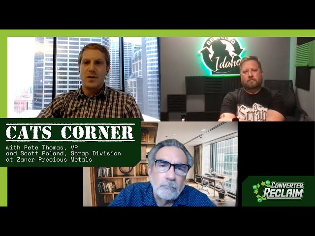 Cats Corner Episode #2 With Pete Thomas, Scott Pollan and Nick Snyder