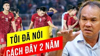 U18 Việt Nam Thua Giờ Người Ta Mới Thấy Bầu Đức Nói đúng