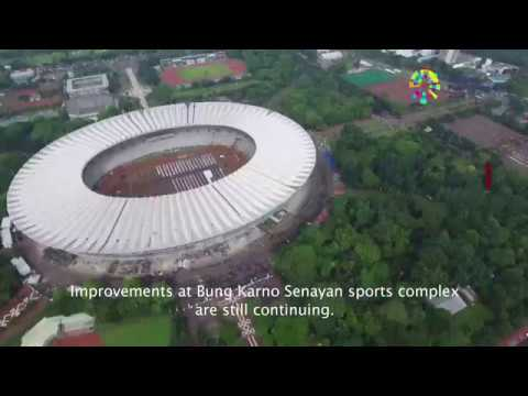 Progress Venue Asian Games 2018 - Jakarta