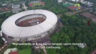 Progress Venue Asian Games 2018 - Jakarta