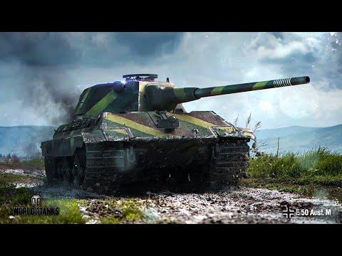 Е50М+режим возрождение+безумие=вакханалия/World of tanks blitz\