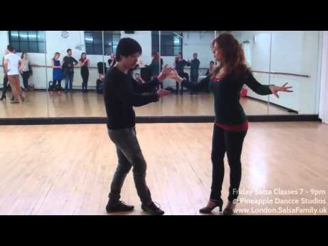 How To Do Salsa Combinations Tutorial - Pineapple Dance Studios London