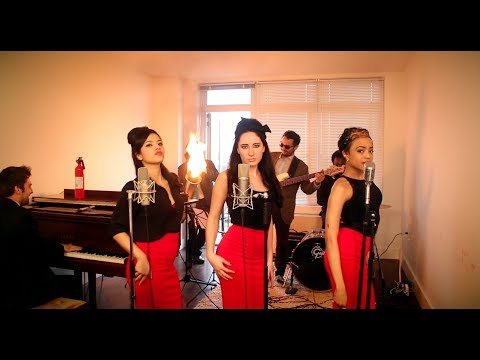 Burn - Vintage '60s Girl Group Ellie Goulding Cover feat. Robyn Adele Anderson