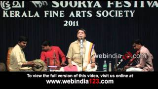 O.S. Arun - Performance, Carnatic vocal music.mp4