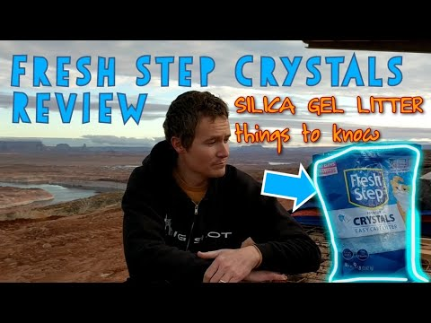 Fresh Step Crystals Litter Review & Discussion Of Silica Gel (Crystal) Litters