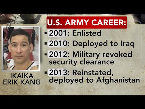 U.S. soldier faces charges of supporting terrorism