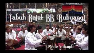 "Bali Arts Festival 2016:  Ceraken musik tradisional radikal,  ""Bubuang"",  I Made Subandi - Stafaband"