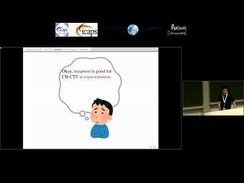 """ICAPS 2018: Takehide Soh on """"teaspoon: Solcing the Curriculum-Bases Course Timetabling ..."""""""