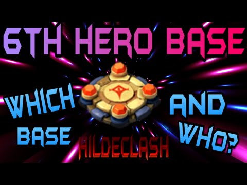 Castle Clash: 6th Hero Base! Difference?