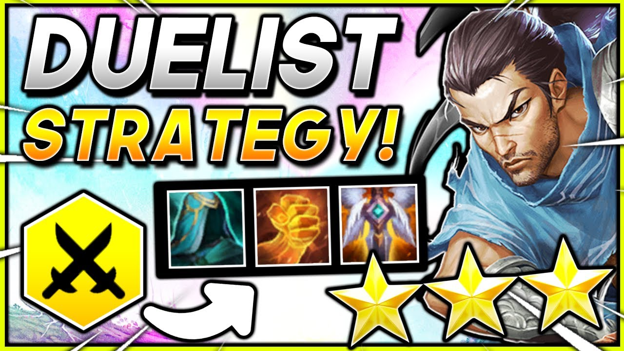 YASUO ⭐⭐⭐ DUELIST BUILD   TFT SET 20.20 Teamfight Tactics RANKED Comp 20.20  Guide Meta Strategy