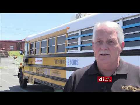 The Choice Bus visits Dodge County Middle School, other Eastman schools
