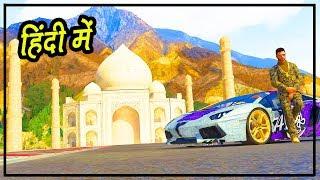 GTA 5 Rich Life - TAJ MAHAL Tour | Hitesh KS