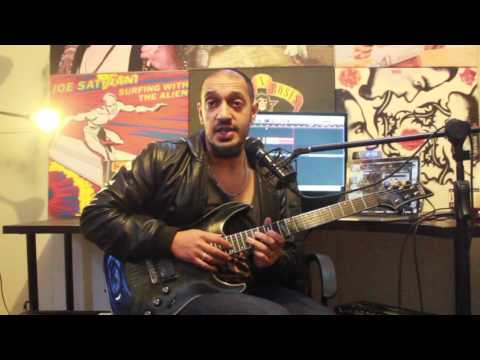 How to play 'Paradigm' by Avenged Sevenfold Guitar Solo Lesson w/tabs