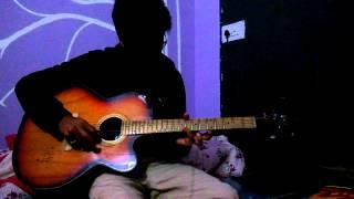 Ajeeb dastan hai yeh guitar tabs cover ISM Dhanbad