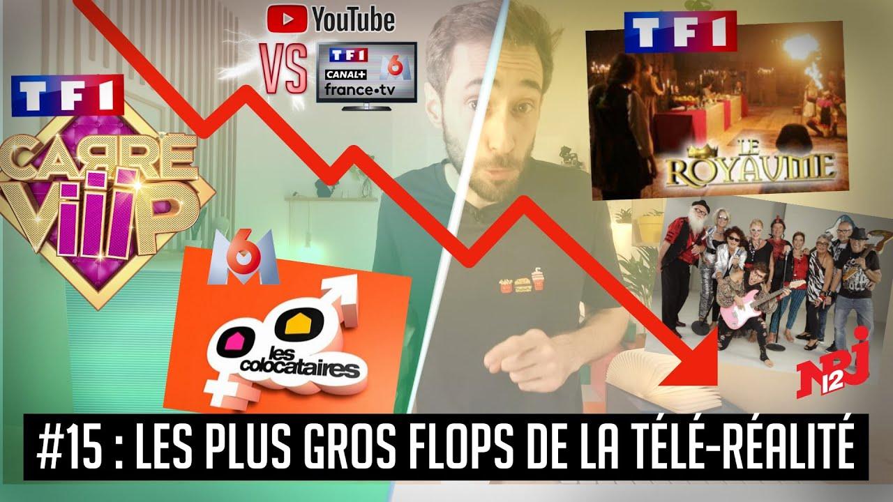YouTube VS la télé #15 : Les pires audiences d'émissions de télé-réalité