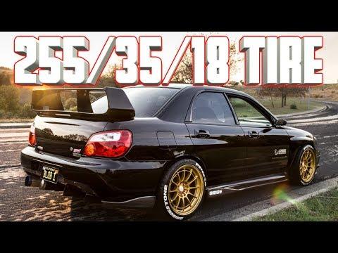 IDEAL Fitment For 2002-2007 GD Subaru WRX STI Non-Wide Body??! Tire Specs & Wheel Specs Revealed!