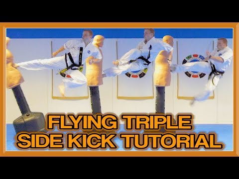 Jump Triple Side Kick Tutorial | GNT How to (Donnie Yen Signature Move)