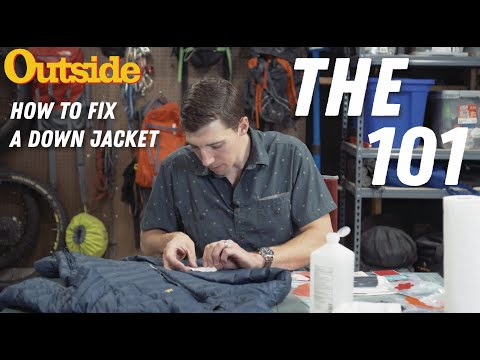 Gear Hack: How To Fix Your Down Jacket