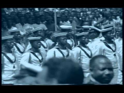 Kwame Nkrumah At Naval Parade - Ghana, 1960s