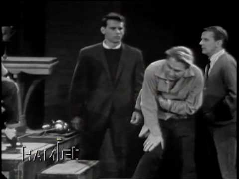 Hamlet Duel Richard Burton John Cullum 1964