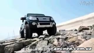 Детский электромобиль Джип M 2764 RS-2 Ford Ranger, автопокраска, черный - дисней.com.ua