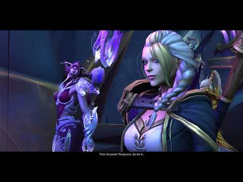 The Eternal Palace Raid Opening Cinematic 2/2- Battle for Azeroth