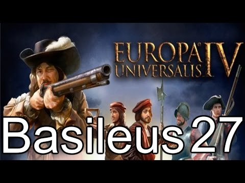 Europa Universalis 4 Basileus 27 | Taking genoa, our first province in italy