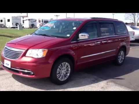 Minivan For Sale >> 2013 Chrysler Town & Country Touring-Limited | used