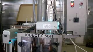 Лінія розливу крафтового пива ЮВЕСТ 0,5 БН 1