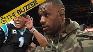 LeBron James gives praise to Cam Newton