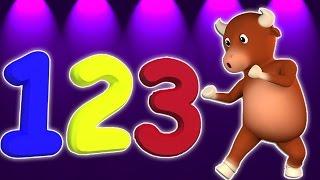 Numbers Song 1-10 | 3D мультфильм для детей | Учебное видео