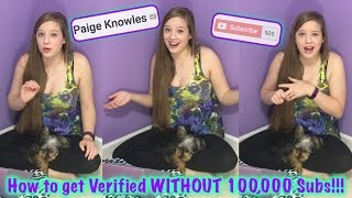 Video How to Verify Your YouTube Channel Without 100,000 Subscribers! (Explanation & Tutorial) download MP3, 3GP, MP4, WEBM, AVI, FLV September 2018