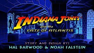 Indiana Jones and the Fate Of Atlantis (PC/DOS) Longplay, 1992, LucasArts™