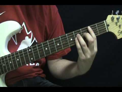 Guirar Lesson - American Woman By The Guess Who - How to Play Guitar Tutorial - Lenny Kravitz