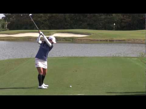 GOLF SWING 2012 - AI MIYAZATO - DOWN THE LINE & SLOW MOTION - HQ 1080p HD
