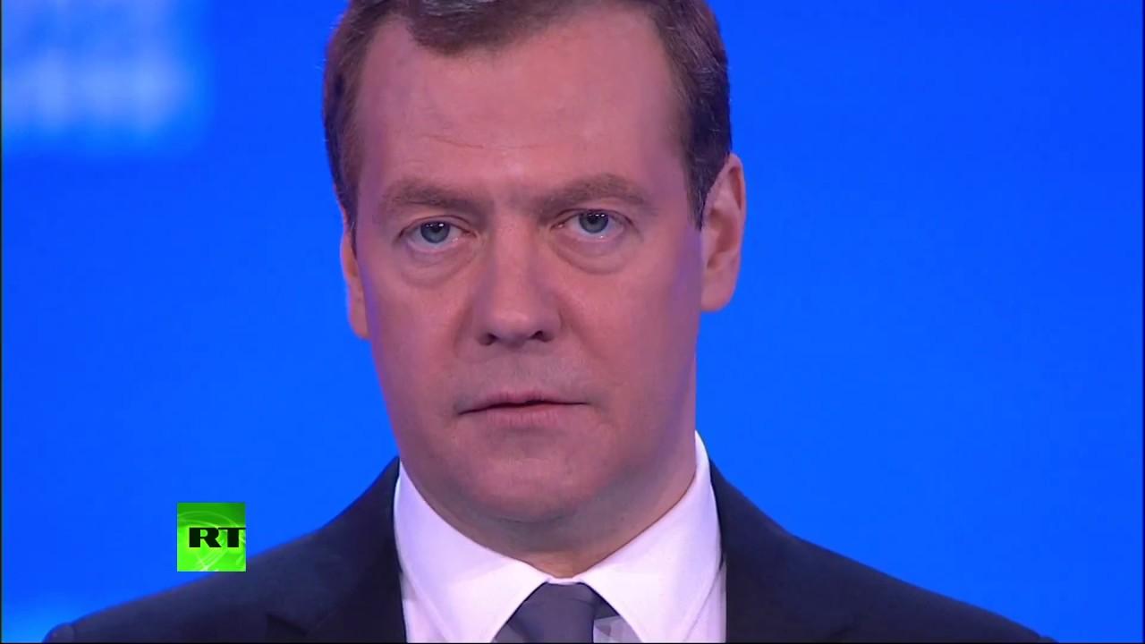 Дмитрий Медведев на съезде партии Единая Россия