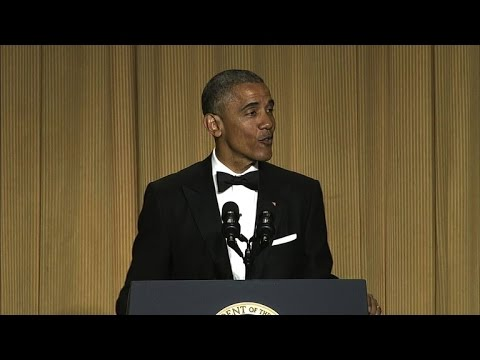 Obama's best 2016 jokes at the White House Correspondents' Dinner