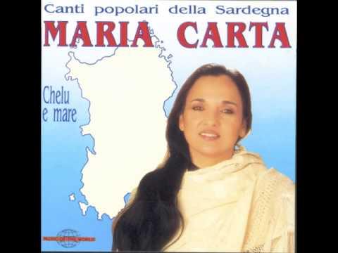 Maria Carta - Canti Popolari della Sardegna -1992  [Full Album ]
