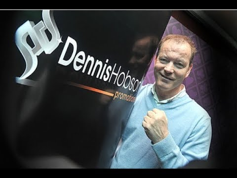 BOXING PROMOTER DENNIS HOBSON  INTERVIEW ON FREEVIEW TV DEAL LIVE!