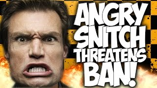 "COD AW: ANGRY SNITCH THREATENS BAN!! TEAMMATE ON TEAMMATE CRIME! ""COD TROLLING"""